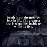 Death Instagram Post