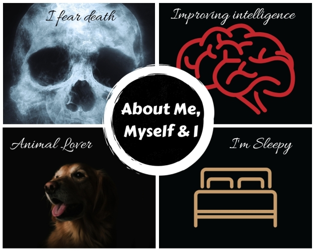 Info graphics (About Me, Myself and I) (1)